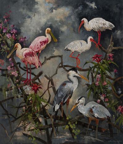 John Alexander, 'Paradise Unhinged', 2019