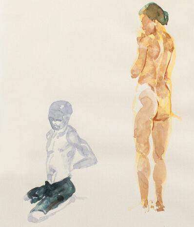 Eric Fischl, 'Untitled (Beach Scene)', 1993
