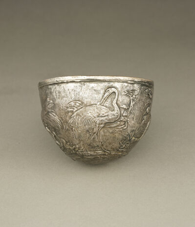 'Bowl with Cranes',  about 25 -1 B.C.