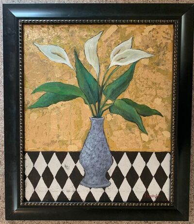 Alexander Khomsky, 'Calla Lilies Floral Still Life', Unknown