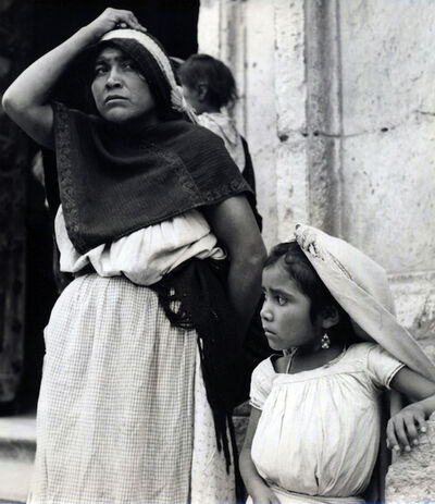 Ellen Auerbach, 'Child and Mother, Tula, Mexico', 1955