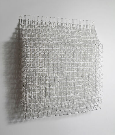 Margie Livingston, 'Falling Grid With Under Painting', 2014