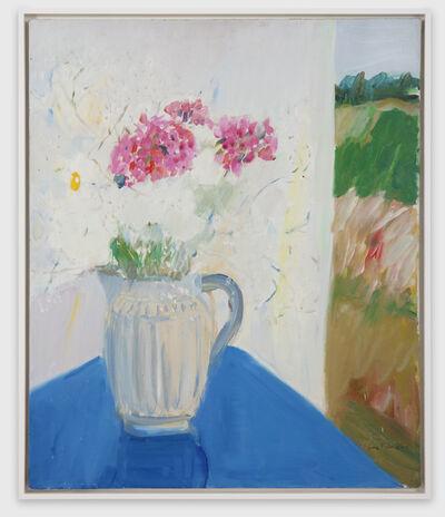 Jane Freilicher, 'Blue Table', 1966