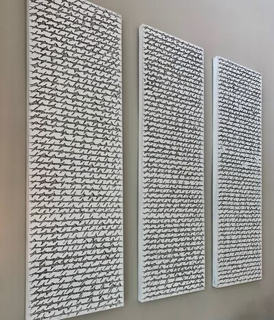 Alfredo Rapetti Mogol, 'Letter in white tryptic', 2016