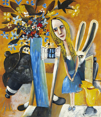 Charles Blackman, 'Alice in Wonderland', 1956