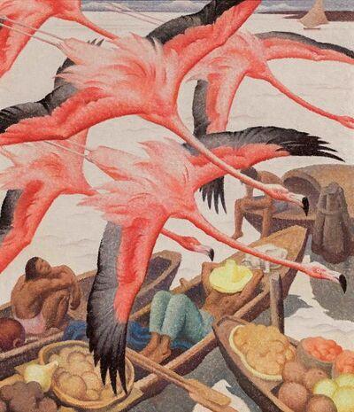 Norbertine Bresslern-Roth, 'Flamingos', 1935