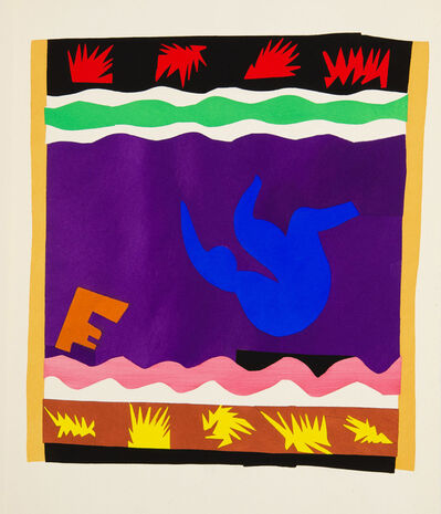 Henri Matisse, 'The Toboggan', 1947