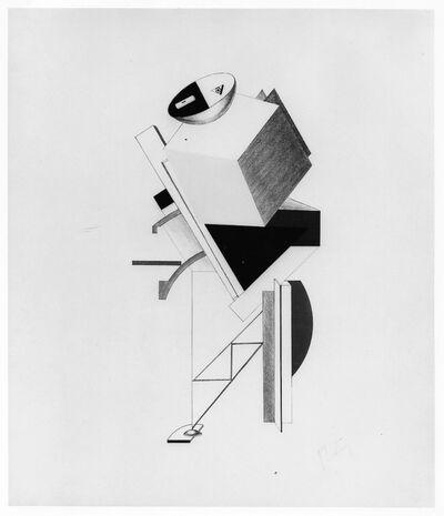 El Lissitzky, 'Posten (Post)', 1923