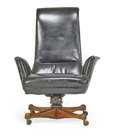 Vladimir Kagan, 'High-back executive desk chair, New York', 1950s