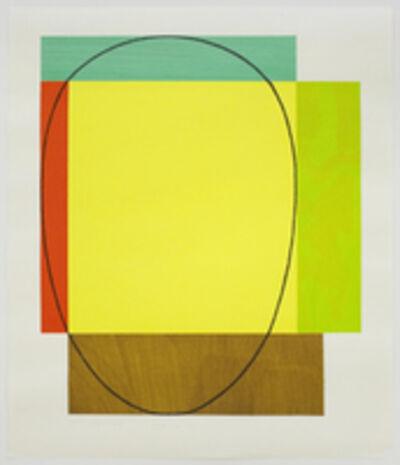 Robert Mangold (b.1937), 'Five Color Frame', 1985