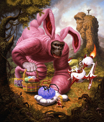 Todd Schorr, 'Ape Allegory', 2009