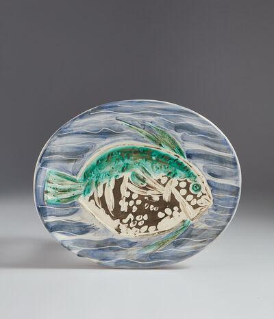 Pablo Picasso, 'Blue fish (Poisson bleu)', 1953