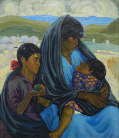 Joseph A. Fleck, 'Mother and Two Children'
