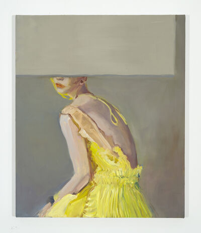 Janet Werner, 'Dee (yellow dress)', 2020