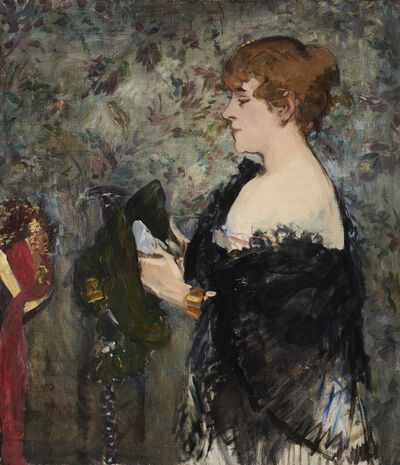 Édouard Manet, 'At the Milliner's (La Modiste)', 1881