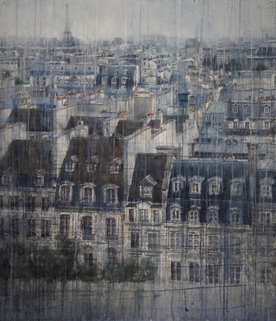 Chizuru Morii Kaplan, 'Parisian Rooftops V', 2019