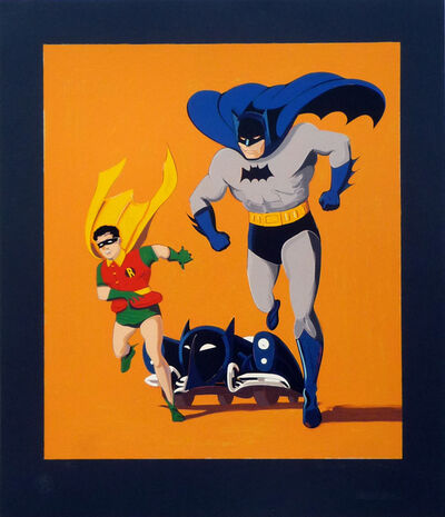 Mel Ramos, 'Batman, Robin and Batmobile', 1989