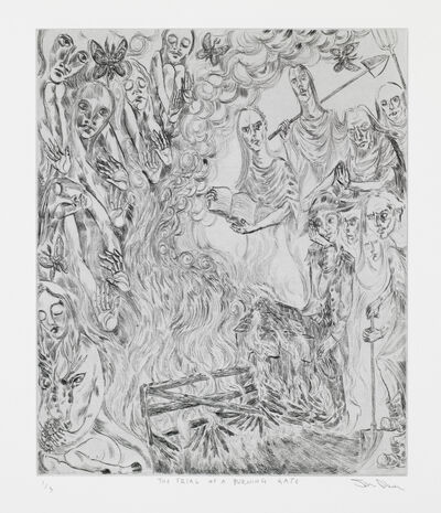 John Abell, 'The Trial of a Burning Gate', 2019