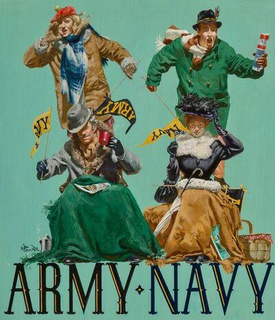 Gibson Crockett, 'Army vs. Navy Fans', 1968