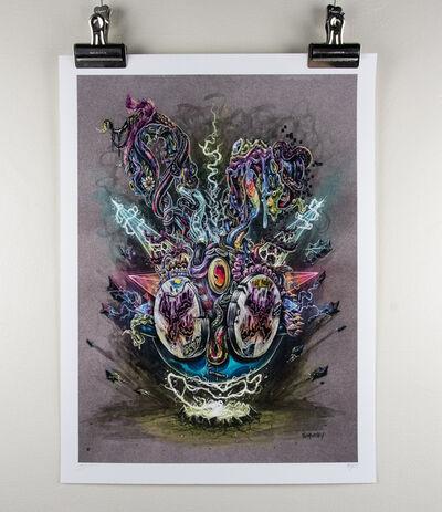 MDMN, 'Ultra Scum Bunny Print', 2018