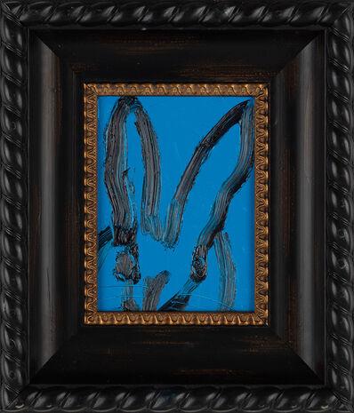 Hunt Slonem, 'Untitled (cerulean blue bunny)', 2019