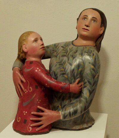 Giuseppe Gavazzi, 'Maternité à la feuille d'olivier', 2003