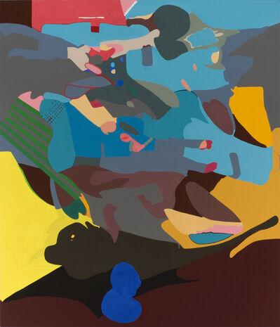 Candida Alvarez, 'Black Cherry Pit', 2009