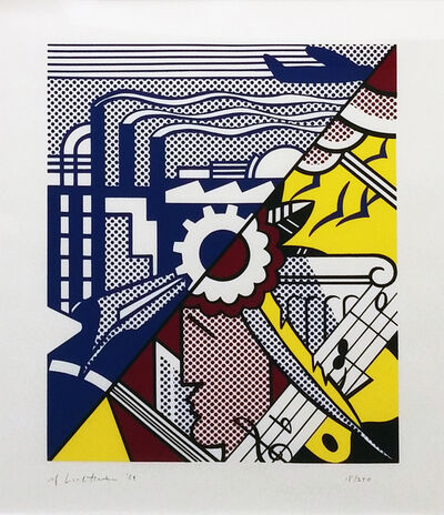 Roy Lichtenstein, 'INDUSTRY AND THE ARTS II', 1969