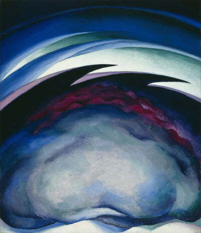 Georgia O'Keeffe, 'Series I -from the Plains', 1919