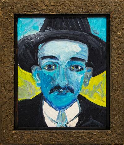 Hunt Slonem, 'Dr. Gregorio Hernandez, Portrait', 1988