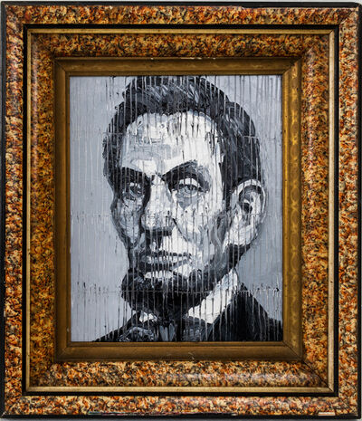 Hunt Slonem, 'Lincoln', 2020