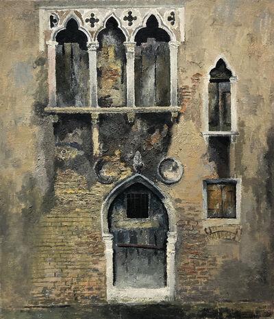 Lev Meshberg, 'Building in Venice', 1985