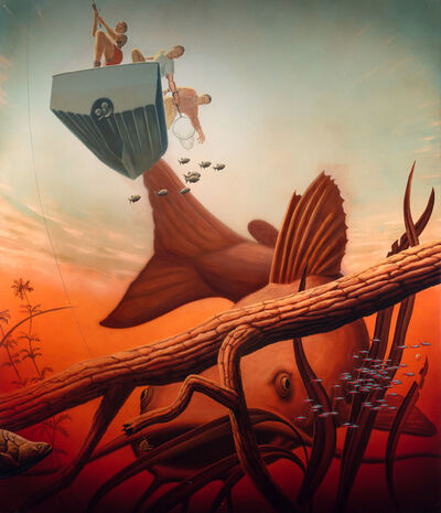 Alexis Rockman, 'Fishing', 2000