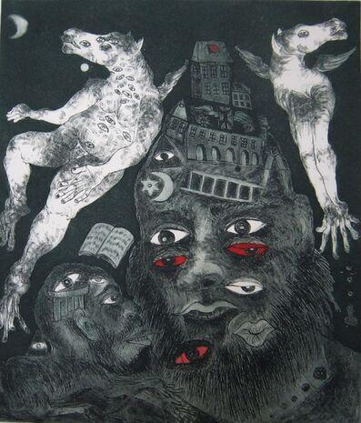 Rubén Maya, 'Dualidad cósmica R. HA', 2010