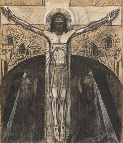 Jan Toorop, 'The Crucifixion', 1920