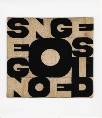 Alighiero Boetti, 'Segno e disegno', 1977