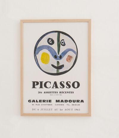 Pablo Picasso, '204 assiettes récentes - Galerie Madoura', 1963