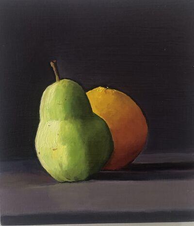 Dan McCleary, 'Pear and Orange', 2019