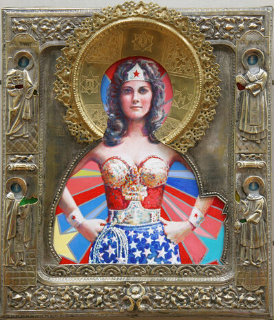 Valentin Popov, 'St. Wonder Woman', 2019
