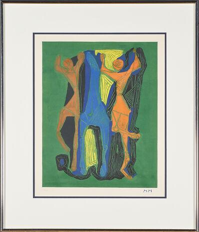 Marino Marini, 'Marino from Goethe, Plate II', 1979