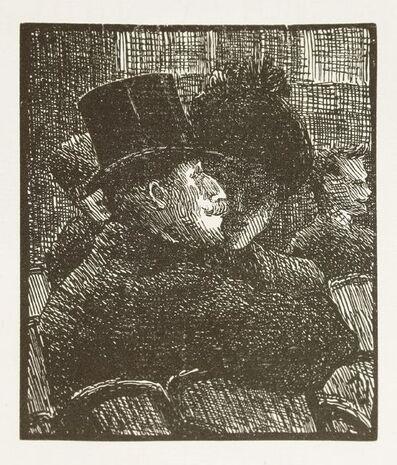 Lucien Pissarro, 'Au Café Concert', 1957