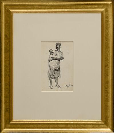 Edward Hopper, 'Native and Child', ca. 1900