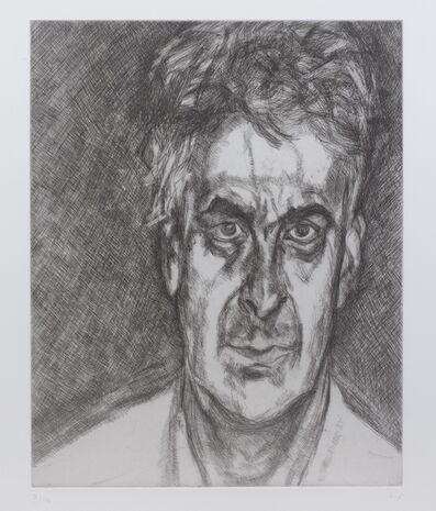 Lucian Freud, 'Martin Gayford', 2004