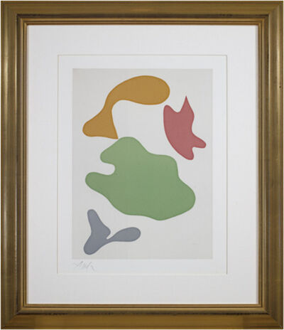 Hans Arp, 'Constellation (full margins on BFK reeves paper)', 1965