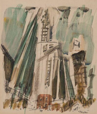 John Marin (1870-1953), 'Woolworth Building', circa 1925