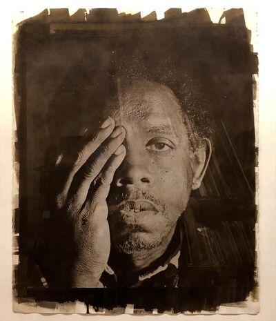 Rashid Johnson, 'Large Photograph George (Seeing in the Dark Series) Van Dyke Brown Photo Print', 1990-1999