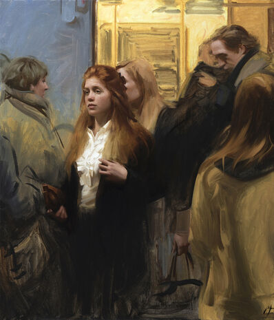 Nick Alm, 'In The Subway', 2017