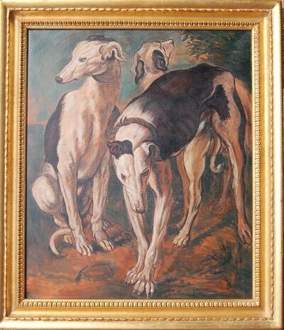 Jonathan Adams, 'Three Greyhounds, J Snyders', 2010