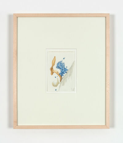 Claes Oldenburg & Coosje van Bruggen, 'Sketchbook Page: Blueberry Pie Transformations for J. V. – Tumbling, à la Mode', 1996