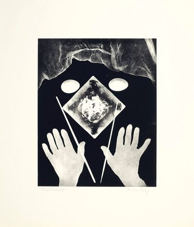 Man Ray, 'Hands and Eggs', 1966